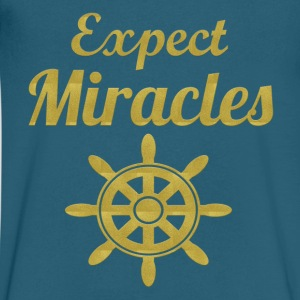 Expect Miracles - Men's V-Neck T-Shirt by Canvas