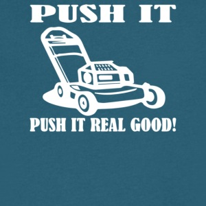 Push It Push it real good - Men's V-Neck T-Shirt by Canvas
