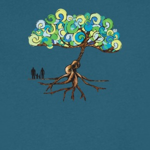 Guitar tree - Men's V-Neck T-Shirt by Canvas