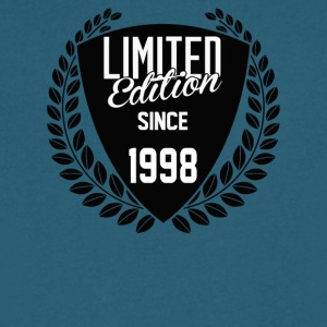 Limited Edition Since 1998 - Men's V-Neck T-Shirt by Canvas