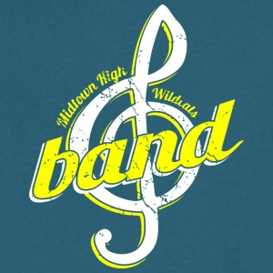 Midtown High Wildcats Band - Men's V-Neck T-Shirt by Canvas