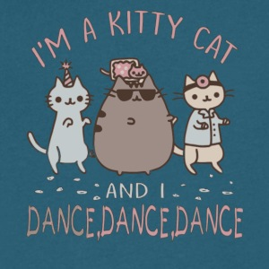 I'm A Kitty Cat and I Dance, Dance, Dance T Shirt - Men's V-Neck T-Shirt by Canvas