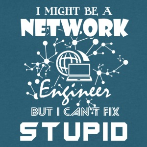 Network Engineer Tee Shirt - Men's V-Neck T-Shirt by Canvas