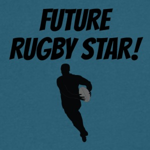 Future Rugby Star - Men's V-Neck T-Shirt by Canvas
