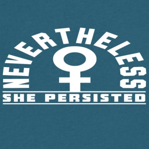 Nevertheless She Persisted 17 - Men's V-Neck T-Shirt by Canvas