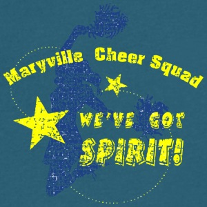 Maryville Cheer Squad We ve Got Spirit - Men's V-Neck T-Shirt by Canvas