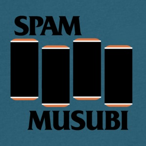 SPAM MUSUBI FLAG - Men's V-Neck T-Shirt by Canvas