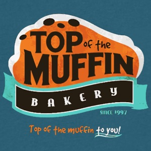 Muffin Tops - Men's V-Neck T-Shirt by Canvas