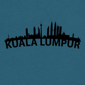 Arc Skyline Of Kuala Lumpur Malaysia - Men's V-Neck T-Shirt by Canvas