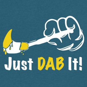 Just DAB It! - Men's V-Neck T-Shirt by Canvas