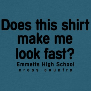 Emmetts High School cross country - Men's V-Neck T-Shirt by Canvas