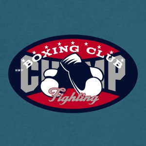 Boxing club - Men's V-Neck T-Shirt by Canvas
