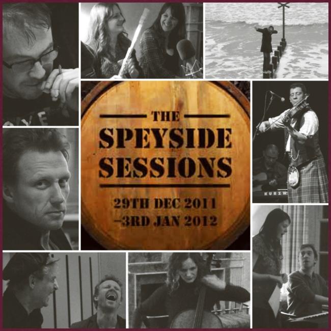 Speyside Sessions album cover