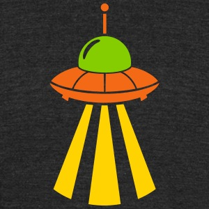 ufo invasion - Unisex Tri-Blend T-Shirt by American Apparel