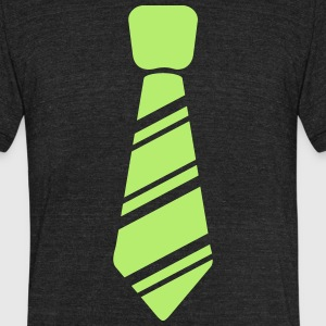 Neck Tie - Unisex Tri-Blend T-Shirt by American Apparel