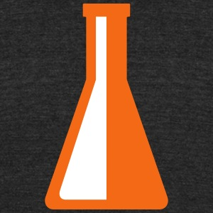 reagent flask - Unisex Tri-Blend T-Shirt by American Apparel