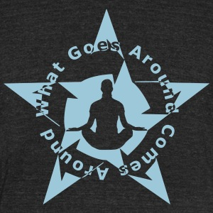 YOGA KARMA - Unisex Tri-Blend T-Shirt by American Apparel
