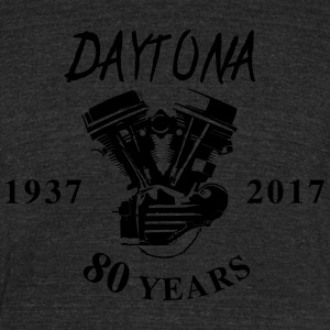 daytona 2017 - Unisex Tri-Blend T-Shirt by American Apparel