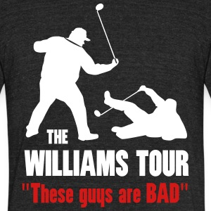 Williams Tour - Unisex Tri-Blend T-Shirt by American Apparel