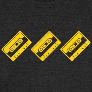 tapes - Unisex Tri-Blend T-Shirt by American Apparel