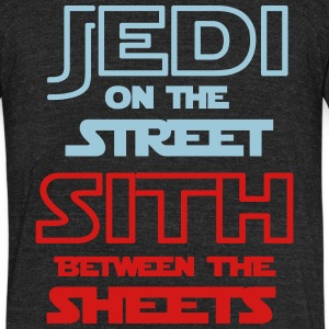 Jedi Sith Awesome Shirt - Unisex Tri-Blend T-Shirt by American Apparel