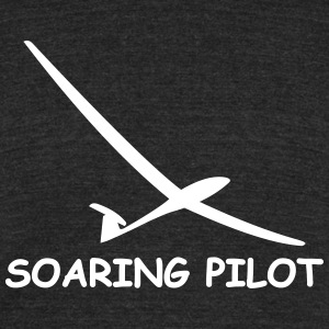 soaring pilot - Unisex Tri-Blend T-Shirt by American Apparel