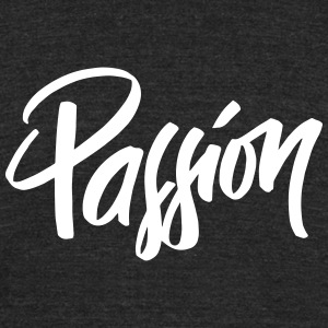Passion - Unisex Tri-Blend T-Shirt by American Apparel