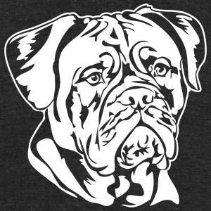 Dogue de Bordeaux - Unisex Tri-Blend T-Shirt by American Apparel