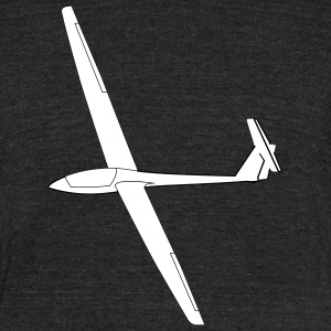 soaring glider LS4 - Unisex Tri-Blend T-Shirt by American Apparel