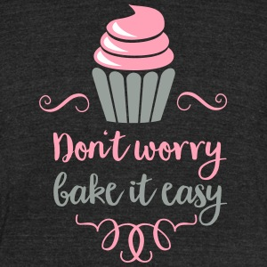 baking - Unisex Tri-Blend T-Shirt by American Apparel