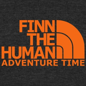 FINN the Human - Unisex Tri-Blend T-Shirt by American Apparel