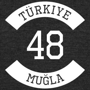 turkiye 48 - Unisex Tri-Blend T-Shirt by American Apparel