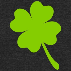FOUR LEAF CLOVER - Unisex Tri-Blend T-Shirt by American Apparel