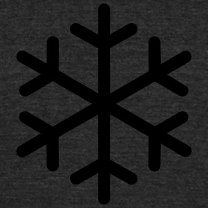 Snowflake - Unisex Tri-Blend T-Shirt by American Apparel