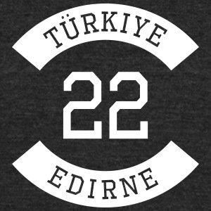 turkiye 22 - Unisex Tri-Blend T-Shirt by American Apparel
