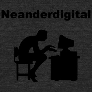 Neanderdigitaler - Unisex Tri-Blend T-Shirt by American Apparel
