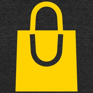 bag - shopping - gift - Unisex Tri-Blend T-Shirt by American Apparel