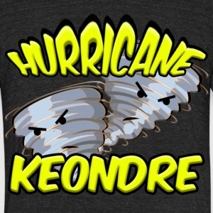 HURRICANE KEONDRE - Unisex Tri-Blend T-Shirt by American Apparel