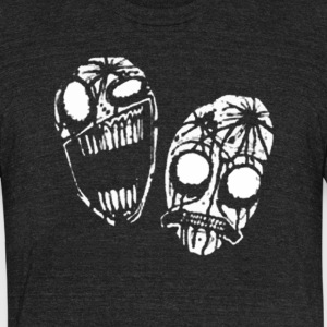 faces - Unisex Tri-Blend T-Shirt by American Apparel