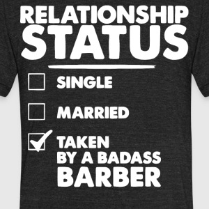 Badass Barber T Shirt - Unisex Tri-Blend T-Shirt by American Apparel