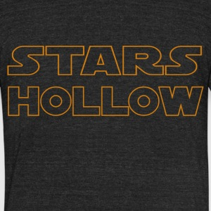 Stars Hollow - Unisex Tri-Blend T-Shirt by American Apparel