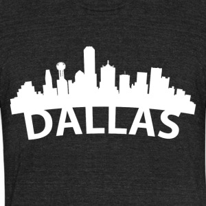 Arc Skyline Of Dallas TX - Unisex Tri-Blend T-Shirt by American Apparel