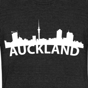 Arc Skyline Of Auckland New Zealand - Unisex Tri-Blend T-Shirt by American Apparel