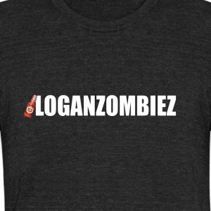 LoganZombiez - Unisex Tri-Blend T-Shirt by American Apparel
