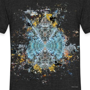 Tunnel vision - Unisex Tri-Blend T-Shirt by American Apparel