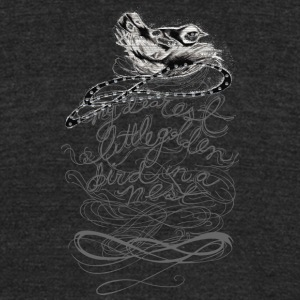 Bird - Unisex Tri-Blend T-Shirt by American Apparel