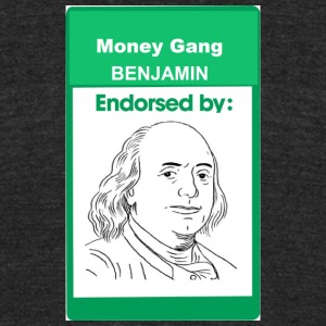 Benjamin style like stan smith - Unisex Tri-Blend T-Shirt by American Apparel
