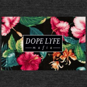floral dope - Unisex Tri-Blend T-Shirt by American Apparel
