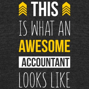 Awesome Accountant Looks Like T Shirt - Unisex Tri-Blend T-Shirt by American Apparel