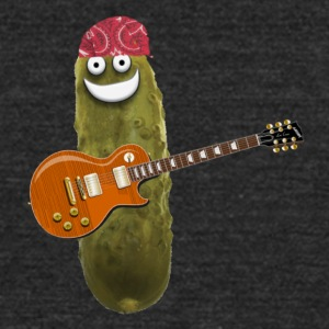 Guitar Pickle - Unisex Tri-Blend T-Shirt by American Apparel